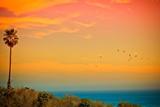 Light of Sun Setting on Malibu Beach Photographic Print by Albert Valles