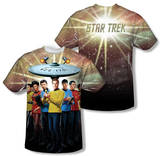 Star Trek - Original Crew (Front/Back Print) T-shirts