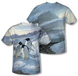 Wild Wings - Penguins (Front/Back Print) T-shirts