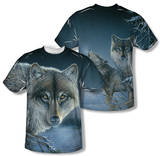 Wild Wings - Midnight Wolves (Front/Back Print) Sublimated