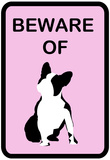 French Bulldog Beware 2 Posters