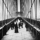 Brooklyn Bridge Photographic Print by Hulton Archive