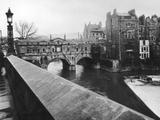 Pulteney Bridge Photographic Print by Hulton Archive
