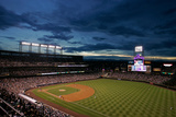 Atlanta Braves V Colorado Rockies Photographic Print by Justin Edmonds