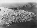 Aerial San Francisco Photographic Print by  Keystone