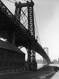 Williamsburg Bridge Photographic Print by Frederic Lewis