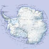 Digital Illustration of Antarctica Photographic Print by Dorling Kindersley