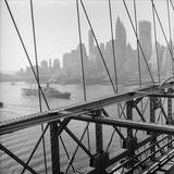 Manhattan Skyline Photographic Print by Three Lions