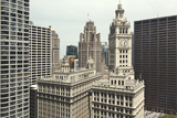 Chicago Architecture Photographic Print by  Marcaux