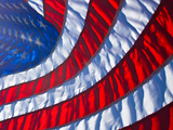 Flag Photographic Print by photo by Mark Chandler