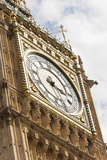 Big Ben Clock Face Photographic Print by Alan Hewitt