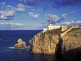 Farol De Cabo De Sao Vicente, Algarve, Portugal Photographic Print by Hans-Peter Merten