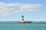 Lighthouse Lake St. Clair Photographic Print by  RiverNorthPhotography