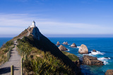 Nugget Point Lighthouse, the Catlins, NZ Photographic Print by Hector de Pereda