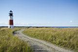 Sankaty Head Lighthouse, Nantucket Photographic Print by Nine OK