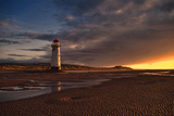 Lighthouse in the Sunset Photographic Print by Photo by Steve Wilson