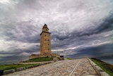 Hercules Tower Photographic Print by Carlos Fernandez