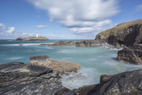 Godrevy Lighthouse near Hayle, Cornwall, UK Photographic Print by Nick Cable
