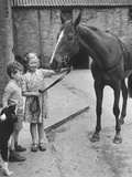 Child's Horse Photographic Print by Raymond Kleboe