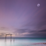 Heron Island Gantry Photographic Print by Bruce Hood