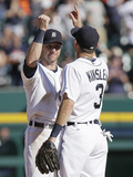 Sep 24, 2014, Chicago White Sox vs Detroit Tigers - Andrew Romine Photographic Print by Duane Burleson