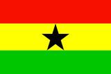 Ghana National Flag Billeder