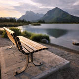 Vermilion Bench Photographic Print by Paul Bruins Photography