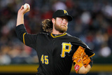 Sep 23, 2014, Pittsburgh Pirates vs Atlanta Braves - Gerrit Cole Photographic Print by Kevin C. Cox