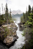 Athabasca Falls Photographic Print by  obliot