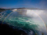 Niagara Falls with Double Rainbow! Photographic Print by Satoshi Kawase