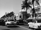 Lincoln & Washington in Miami Beach Photographic Print by Pictorial Parade