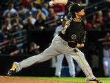 Sep 24, 2014, Pittsburgh Pirates vs Atlanta Braves - Jeff Locke Photographic Print by Scott Cunningham