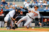 Sep 24, 2014, Baltimore Orioles vs New York Yankees - Ryan Flaherty Photographic Print by Jim McIsaac