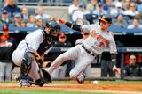Sep 24, 2014, Baltimore Orioles vs New York Yankees - Ryan Flaherty Photographic Print by Jim McIsaac