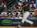Sep 24, 2014, Pittsburgh Pirates vs Atlanta Braves - Andrew McCutchen Photographic Print by Scott Cunningham