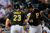 Sep 23, 2014, Pittsburgh Pirates vs Atlanta Braves - Travis Snider Photographic Print by Kevin C. Cox