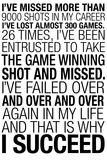 Why I Succeed Quote Poster