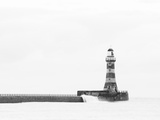 Roker Pier and Lighthouse, Sunderland, UK Photographic Print by Jason Friend Photography Ltd