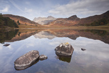 Blea Tarn and the Langdale Pikes. Photographic Print by Julian Elliott Photography