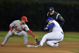 Sep 22, 2014, St. Louis Cardinals vs Chicago Cubs - Anthony Rizzo Photographic Print by Brian Kersey