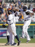 Sep 24, 2014, Chicago White Sox vs Detroit Tigers - Torii Hunter Photographic Print by Duane Burleson