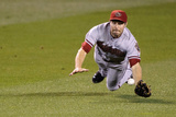 Sep 23, 2014, Arizona Diamondbacks vs Minnesota Twins - A.J. Pollock Photographic Print by Hannah Foslien