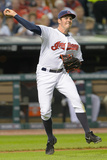 Sep 24, 2014, Kansas City Royals vs Cleveland Indians - Trevor Bauer Photographic Print by Jason Miller