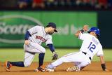 Sep 24, 2014, Houston Astros vs Texas Rangers - Rougned Odor Photographic Print by Ronald Martinez