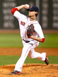 Sep 23, 2014, Tampa Bay Rays vs Boston Red Sox - Clay Buchholz Photographic Print by Jared Wickerham