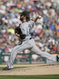 Sep 24, 2014, Chicago White Sox vs Detroit Tigers - Daniel Webb Photographic Print by Duane Burleson