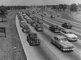 Grand Central Parkway Traffic Photographic Print by A. E. French