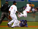Sep 23, 2014, Tampa Bay Rays vs Boston Red Sox - Mookie Betts Photographic Print by Jared Wickerham