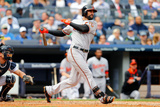 Sep 24, 2014, Baltimore Orioles vs New York Yankees - Nick Markakis Photographic Print by Jim McIsaac