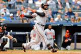 Sep 24, 2014, Baltimore Orioles vs New York Yankees - Nick Markakis Photographic Print by Jim McIsaac